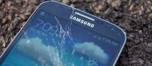 Samsung Galaxy S4 scherm stuk