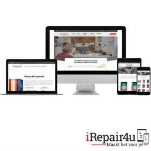Nieuwe iRepair4u website voor iPad en iPhone reparatie Bladel