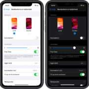iPhone donkere modus - Dark mode