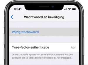 pple ID wachtwoord vergeten iPhone X