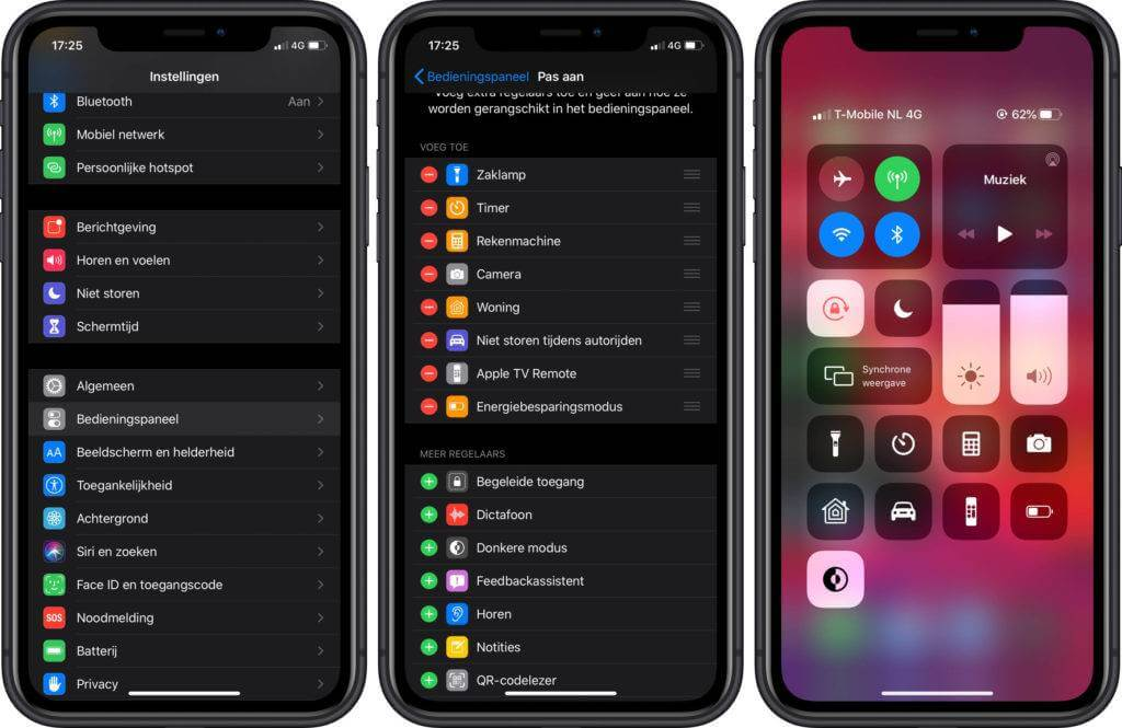 iOS 13 iPhone donkere modus