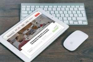 iPadOS 13 - iPad met een muis
