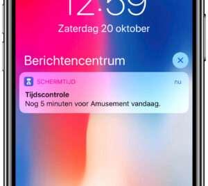 Schermtijd iOS 13