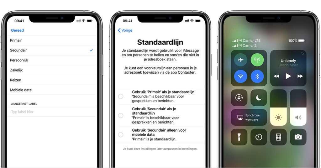 eSIM instellen iPhone