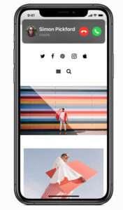 iOS 14 bel scherm