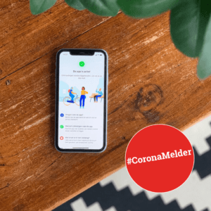 Coronamelder app